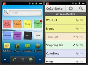 ColorNote Android(1)