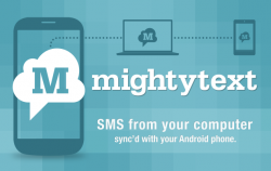 MightyText, SMS de la PC al móvil